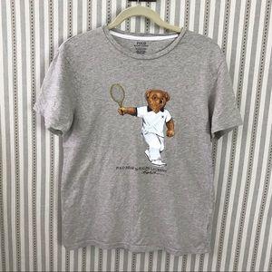 Polo Ralph Lauren Polo Bear Tennis Graphic Tee